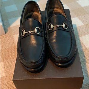 Black Gucci Loafer
